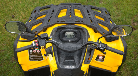 Can-Am Outlander controls