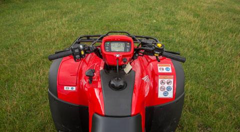 Honda Foreman controls
