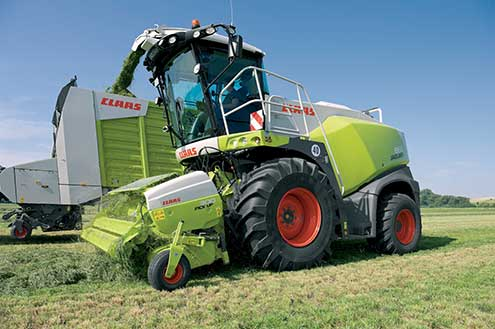 Claas 800-series forager