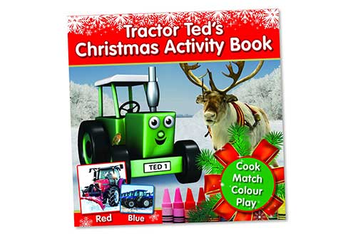 Tractor Ted book