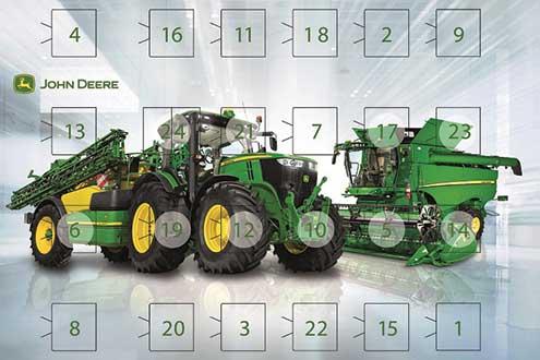 Deere advent calendar