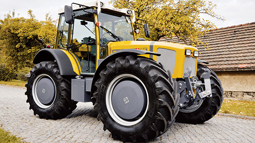 biodiesel tractor