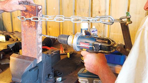drill lever