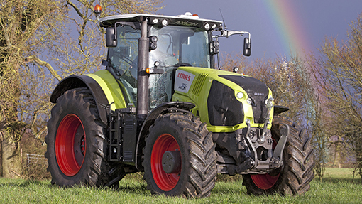 2014 Claas Axion 850