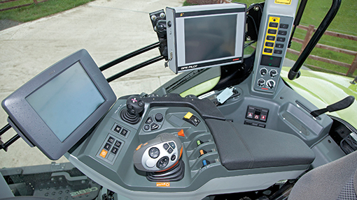 2014 Claas Axion 850 console
