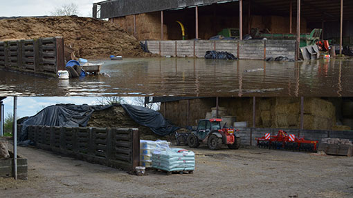 Floods - silage 2