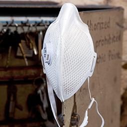 A-1V A-Series disposable mesh respirators