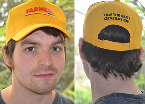 YFC cap front and back