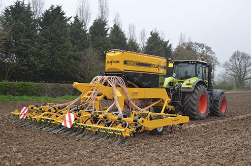 Claydon 6m Hybrid T drill