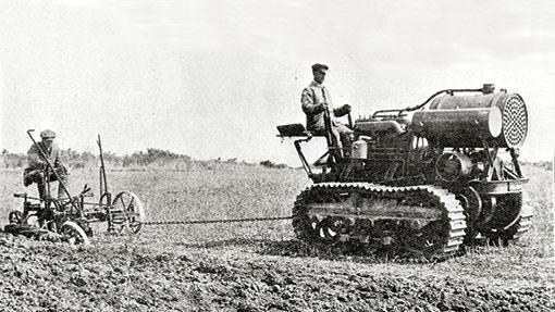 Tractors at war3