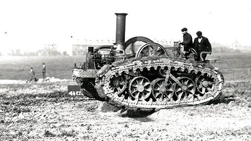 Tractors at war4
