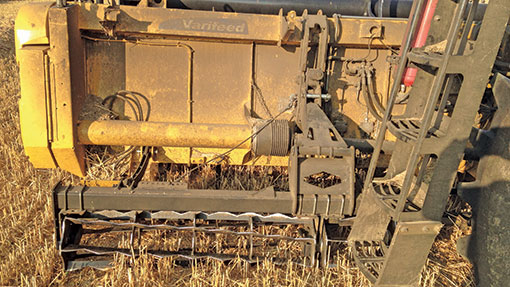 NH twin-cut combine cage roller