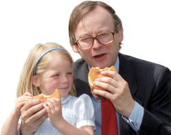 John Gummer and daughter Cordelia