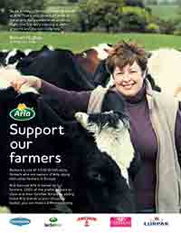 Arla press ad