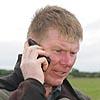 Bryce Rham on phone