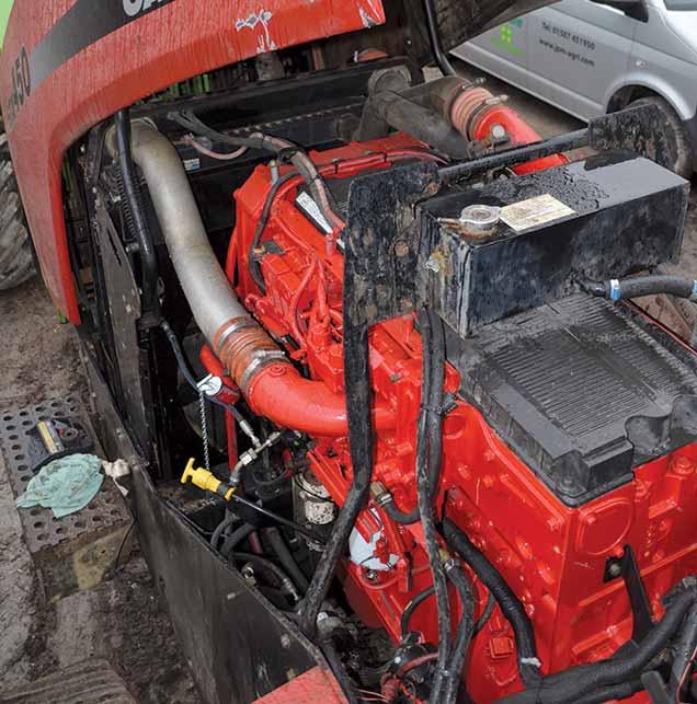 Quadtrack engine